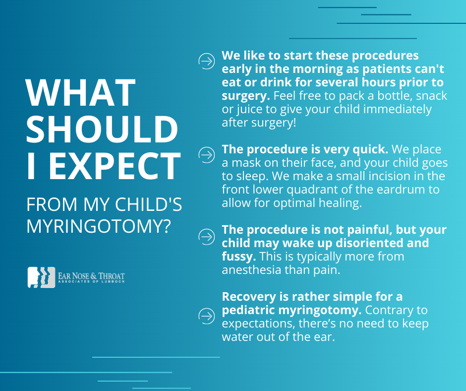 what to expect from pediatric myringotomy