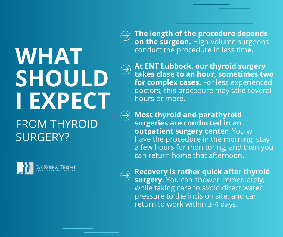 what to expect from thyroid surgery