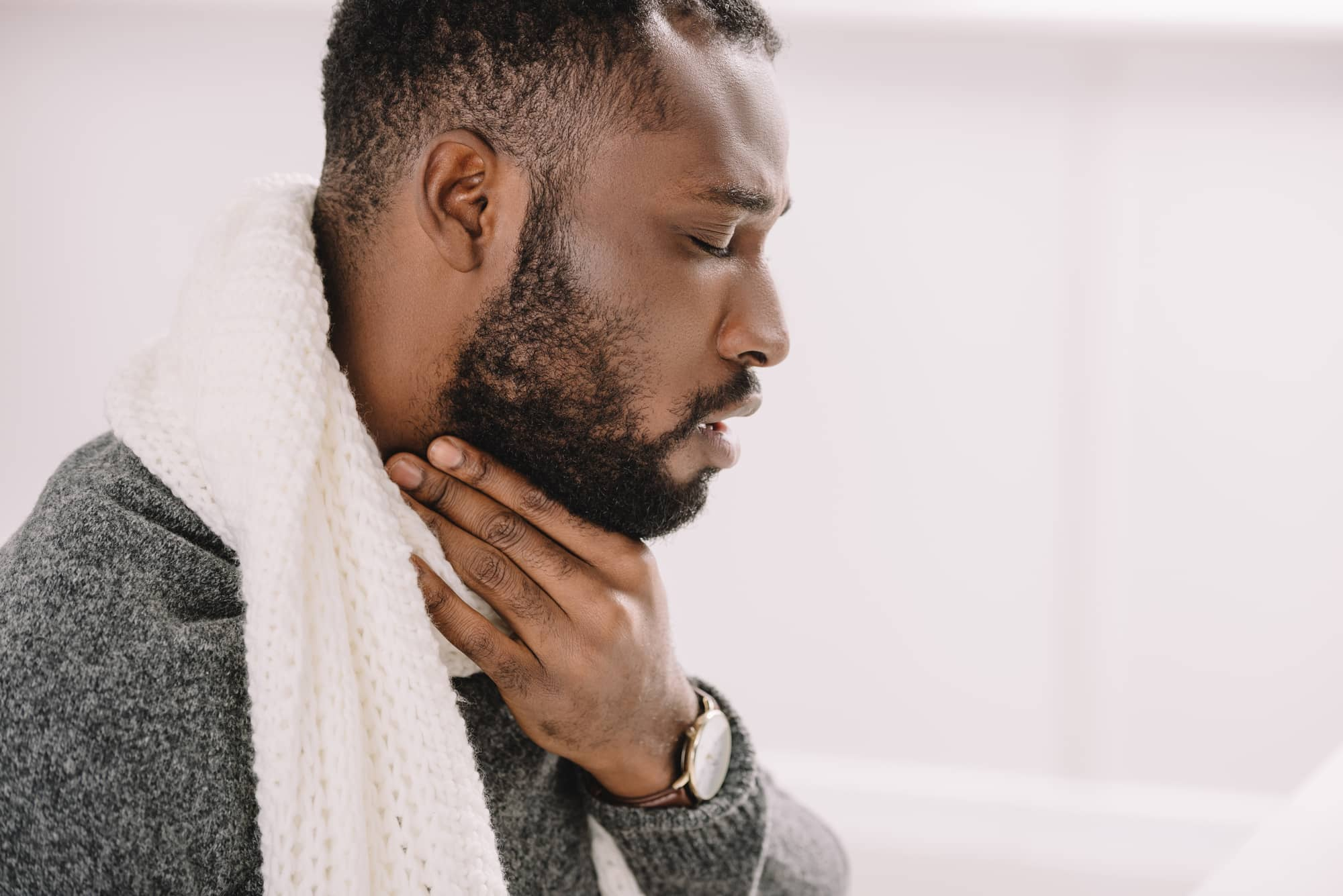 Persistent-Sore-Throat-Infection