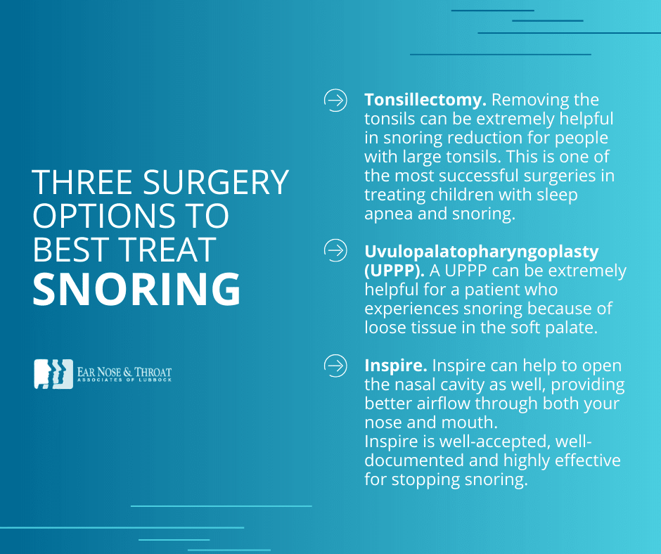 snoring surgery